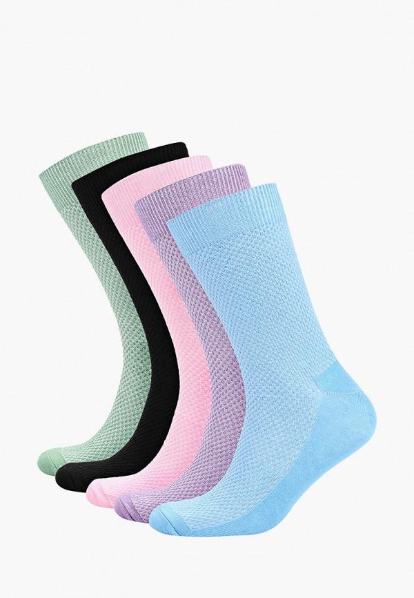 Носки  голубой, зеленый, розовый, фиолетовый, черный цвета