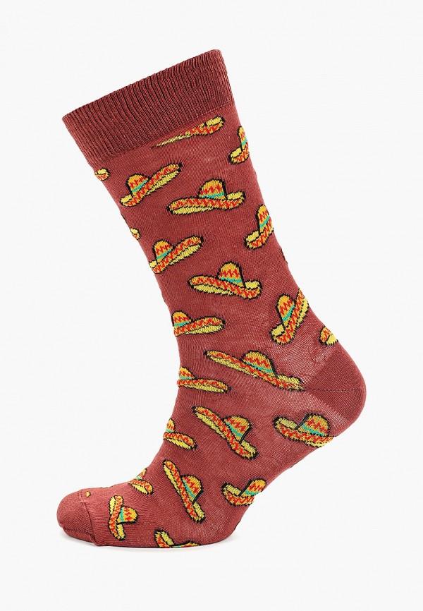 мужские носки topman, бордовые