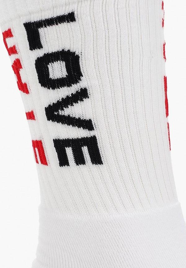 Фото 2 - мужские носки Topman белого цвета