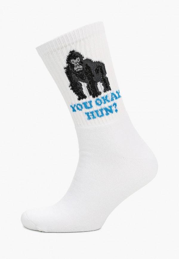 мужские носки topman, белые