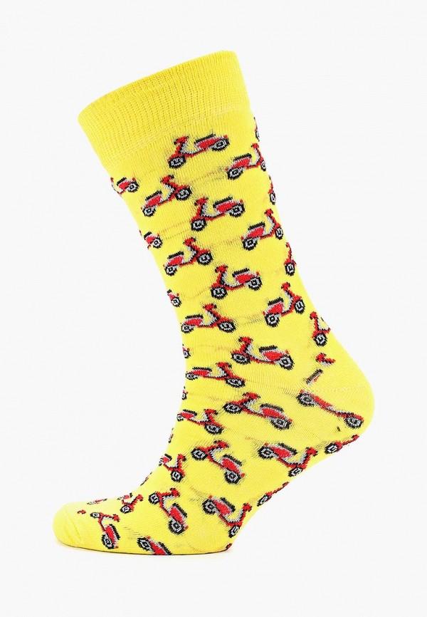 мужские носки topman, желтые