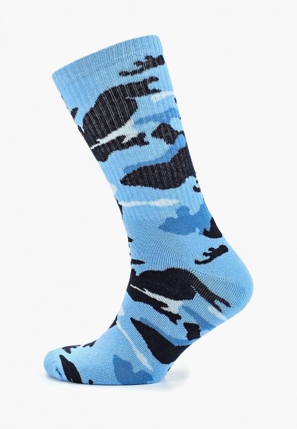 мужские носки topman, голубые