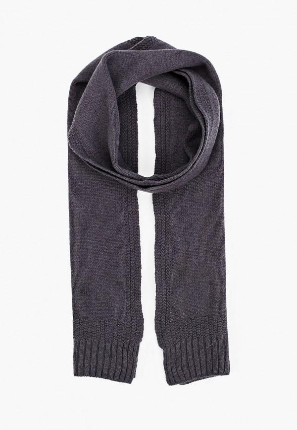 мужской шарф topman, серый