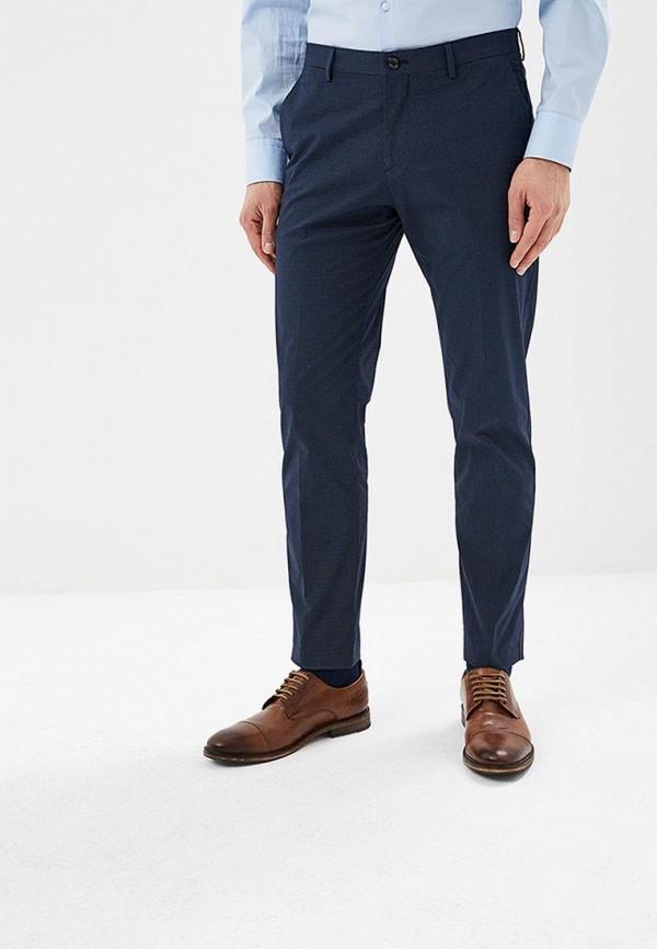 Фото - мужские брюки Tommy Hilfiger синего цвета