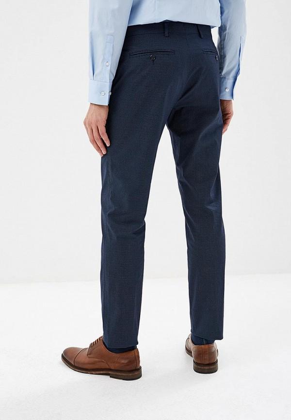 Фото 3 - мужские брюки Tommy Hilfiger синего цвета
