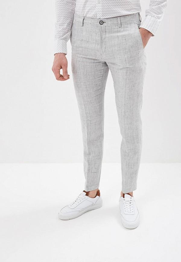 мужские повседневные брюки tommy hilfiger, серые
