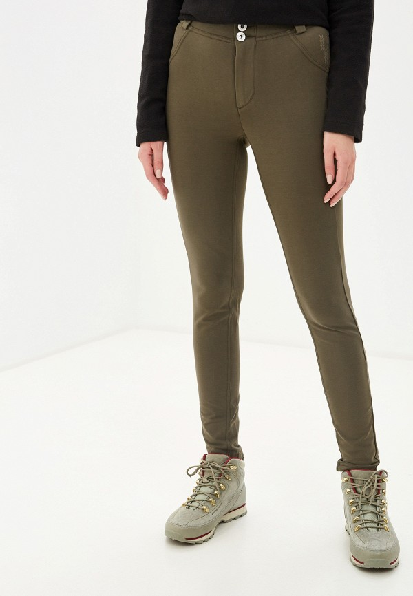Фото - женские брюки Torstai цвета хаки