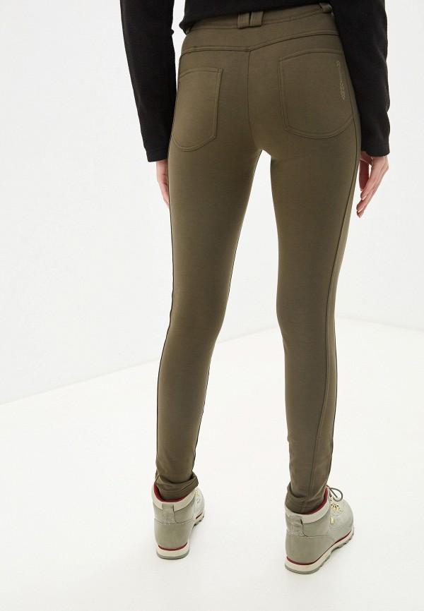 Фото 3 - женские брюки Torstai цвета хаки