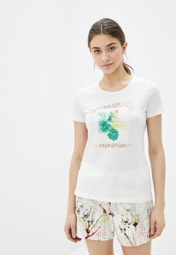 женская спортивные футболка torstai, белая