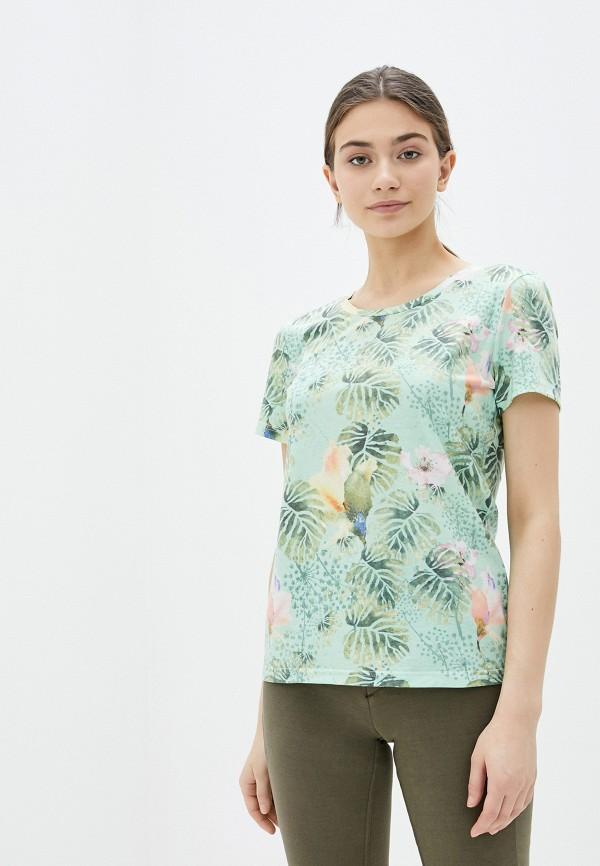 женская спортивные футболка torstai, зеленая
