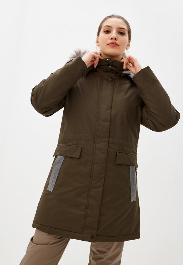 женская куртка torstai, хаки