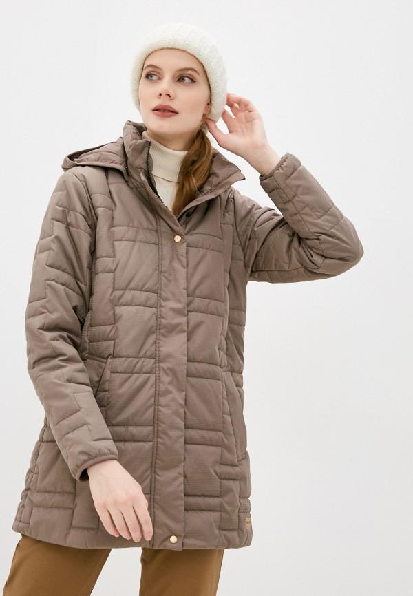 женская куртка torstai, коричневая
