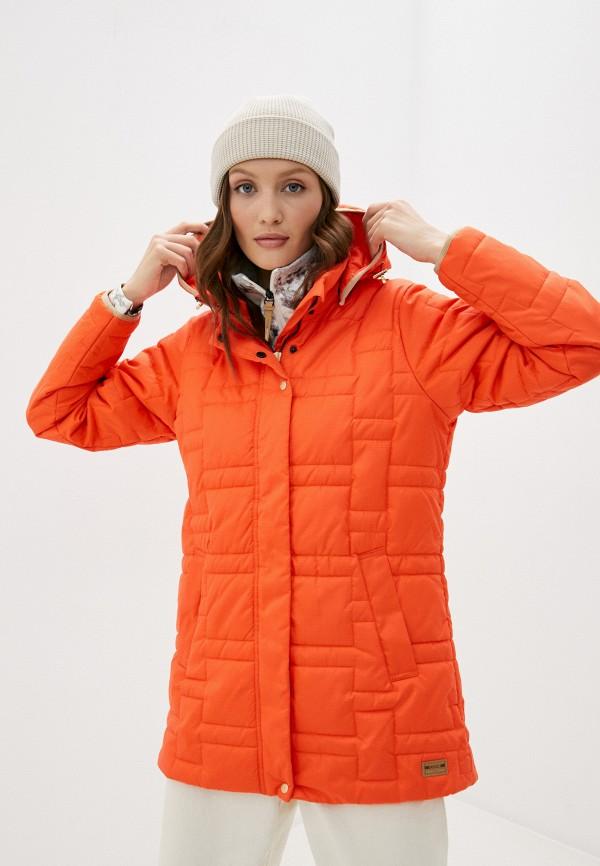 женская куртка torstai, оранжевая