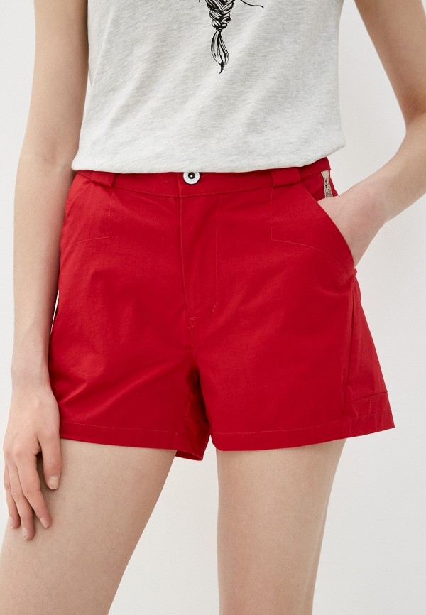 женские повседневные шорты torstai, красные