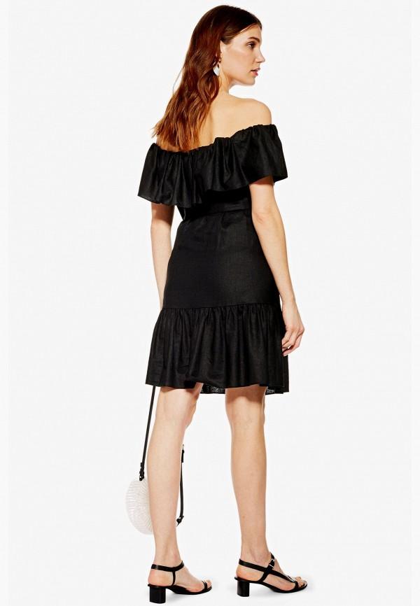 Фото 2 - Платье Topshop Maternity черного цвета