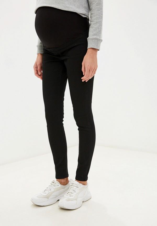 женские повседневные брюки topshop maternity, черные