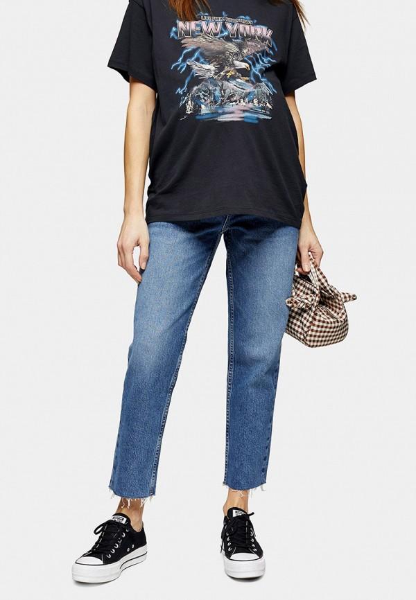 женские джинсы topshop maternity, синие