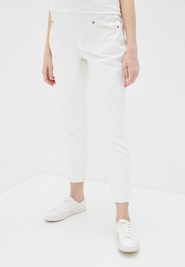 женские прямые джинсы topshop maternity, белые