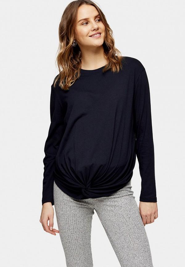 женская блузка topshop maternity, синяя
