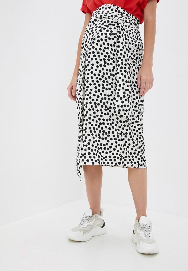 женская юбка topshop maternity, белая