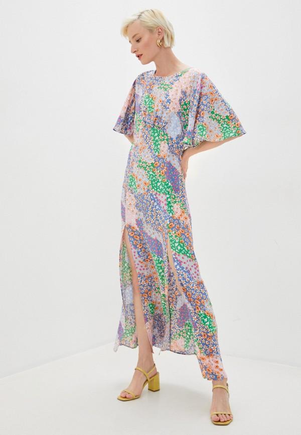 женское повседневные платье topshop maternity, разноцветное