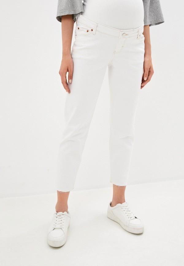женские джинсы скинни topshop maternity, белые