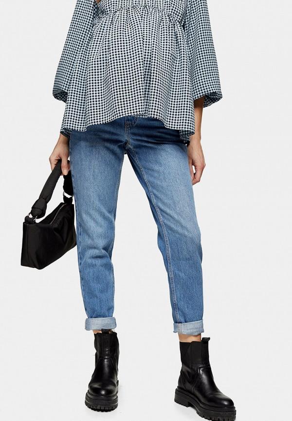 женские джинсы topshop maternity, голубые