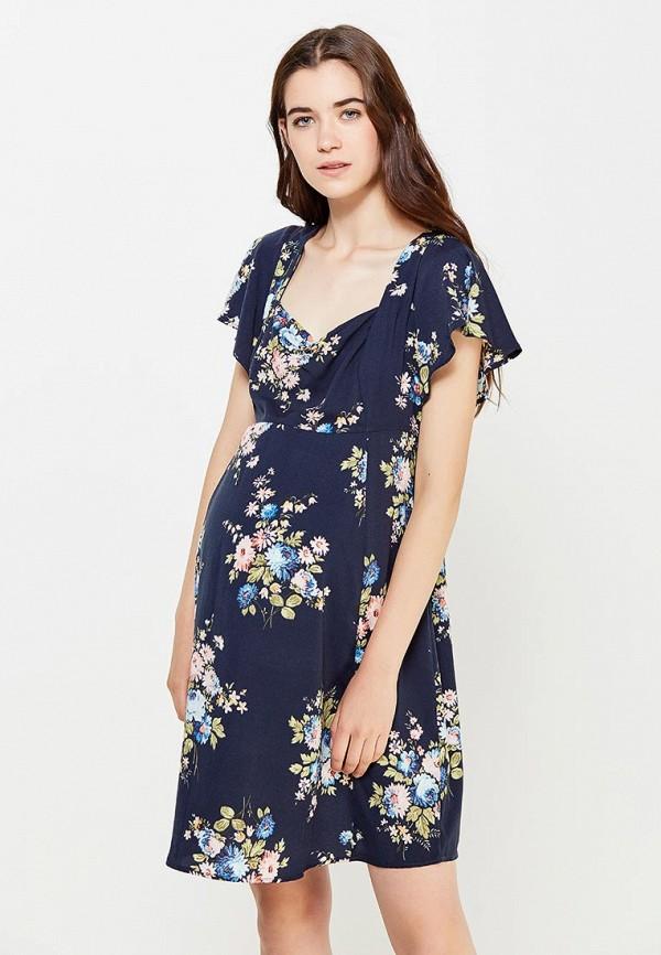 Купить Платье Topshop Maternity, TO039EWNKB34, синий, Осень-зима 2016/2017