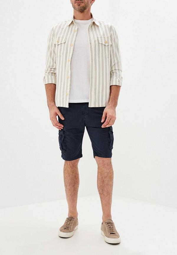 Фото 2 - мужские шорты Tony Backer синего цвета