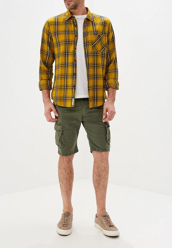 Фото 2 - мужские шорты Tony Backer цвета хаки