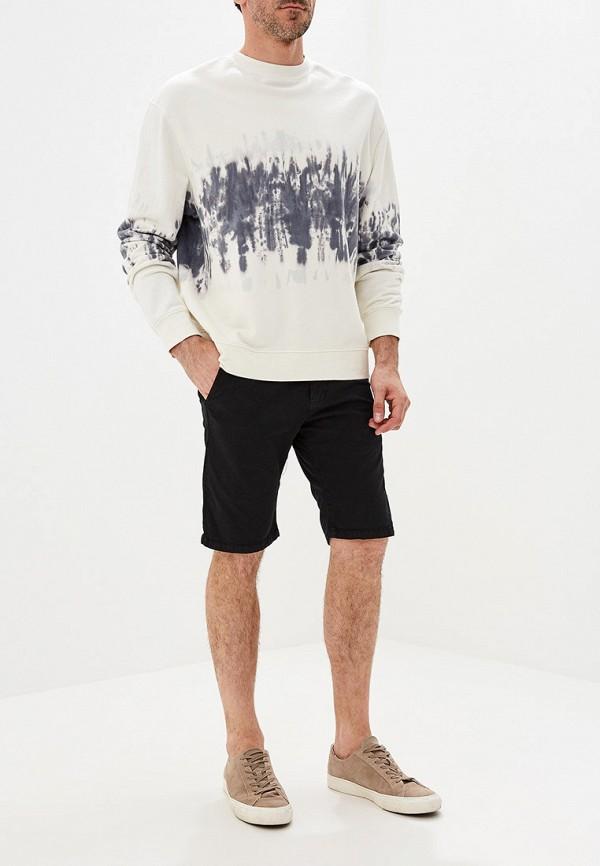 Фото 2 - мужские шорты Tony Backer черного цвета