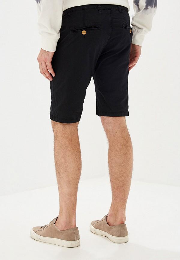 Фото 3 - мужские шорты Tony Backer черного цвета