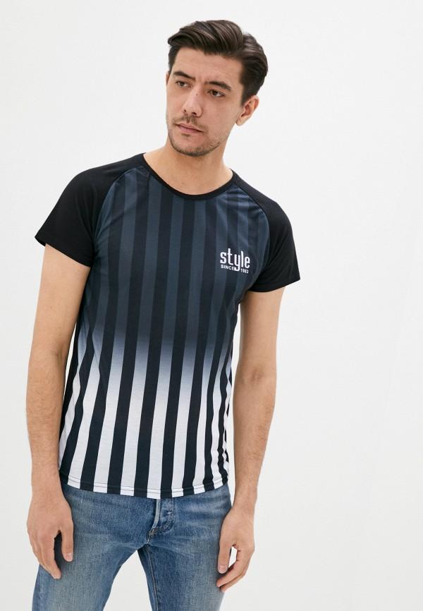 мужская футболка с коротким рукавом tony backer, разноцветная