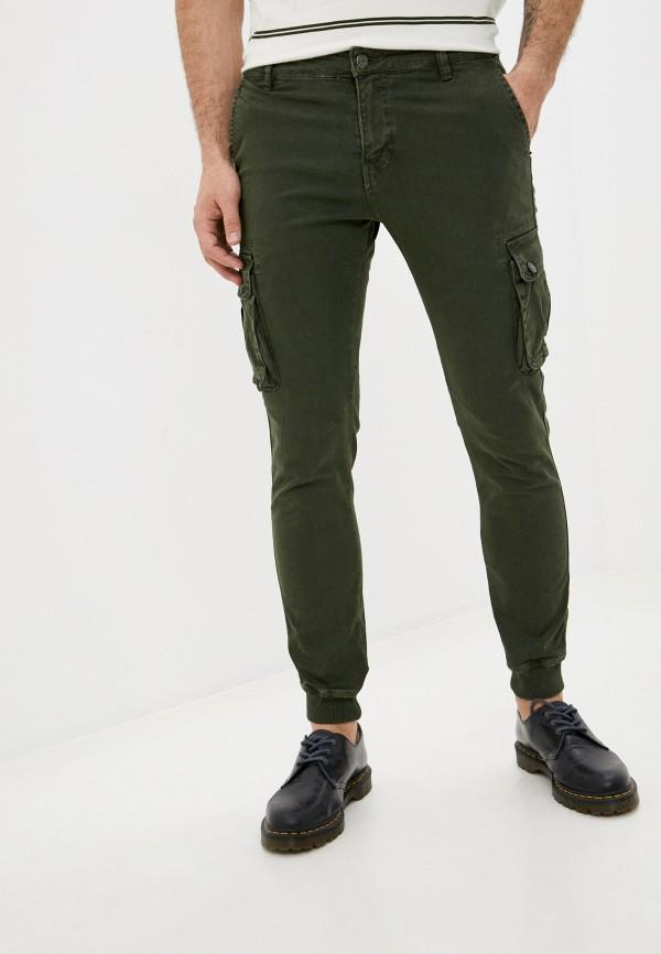 мужские брюки tony backer, зеленые