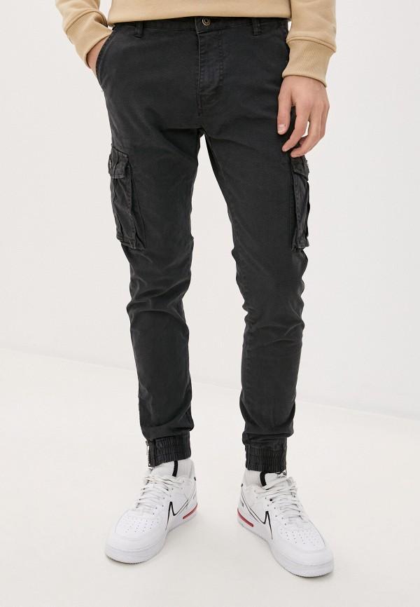 мужские брюки tony backer, серые
