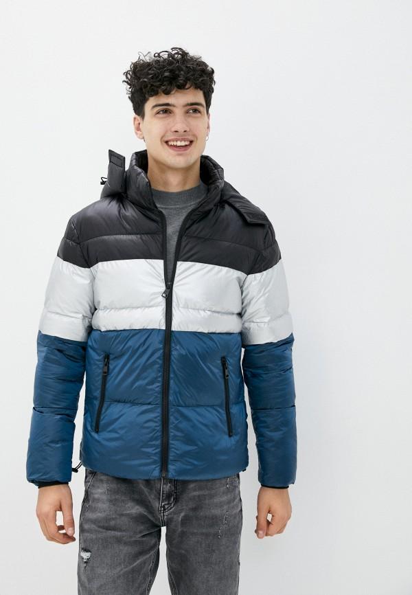 мужская куртка tony backer, разноцветная