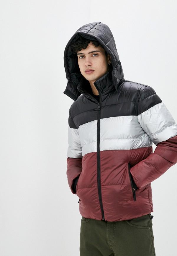 мужская куртка tony backer, бордовая