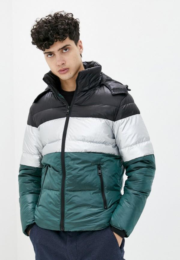 мужская куртка tony backer, зеленая