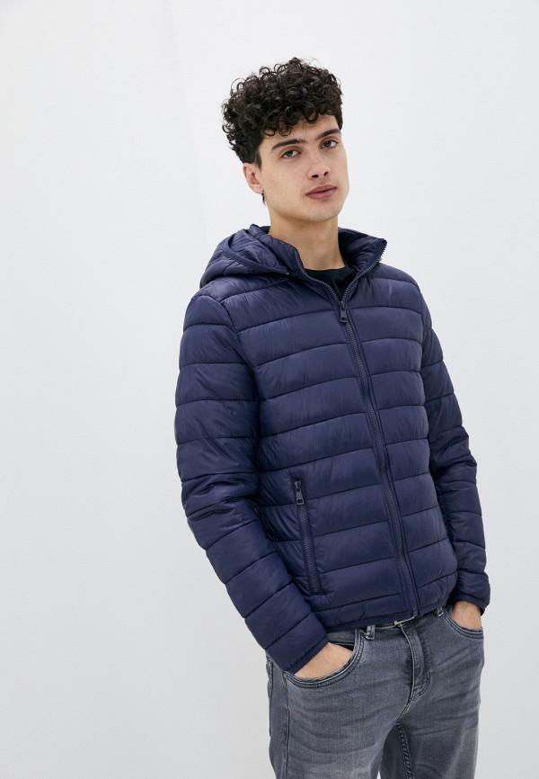 мужская куртка tony backer, синяя