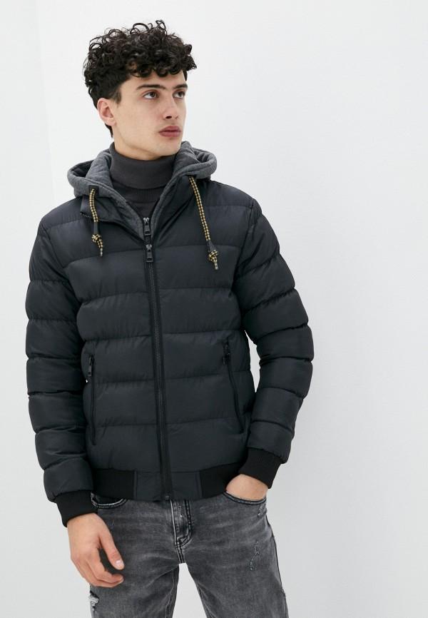 мужская куртка tony backer, черная