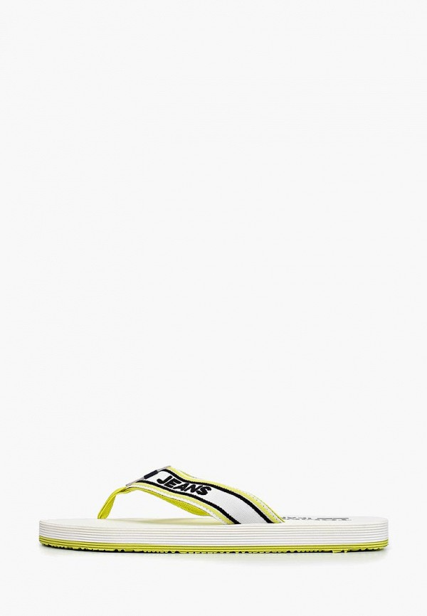 мужские сланцы tommy jeans, желтые