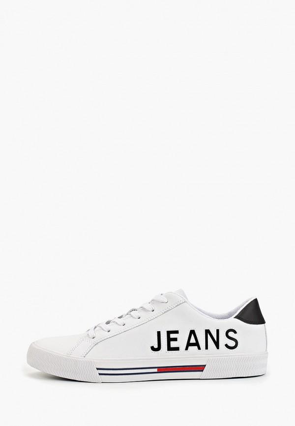 мужские кеды tommy jeans, белые