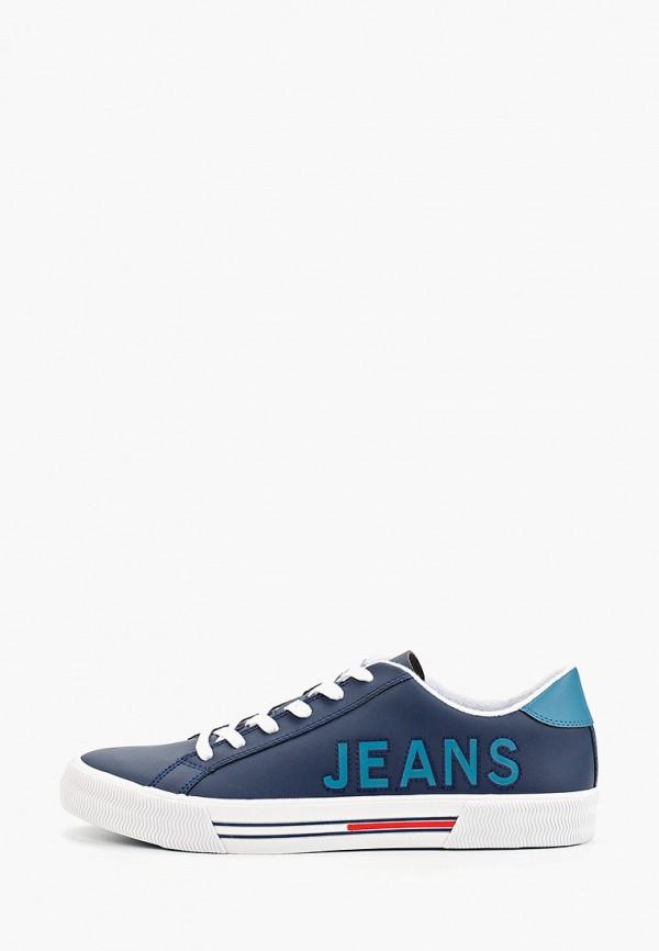 мужские кеды tommy jeans, синие