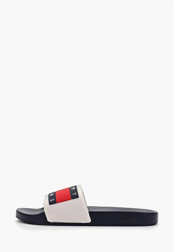 Фото - мужские сандали Tommy Jeans белого цвета