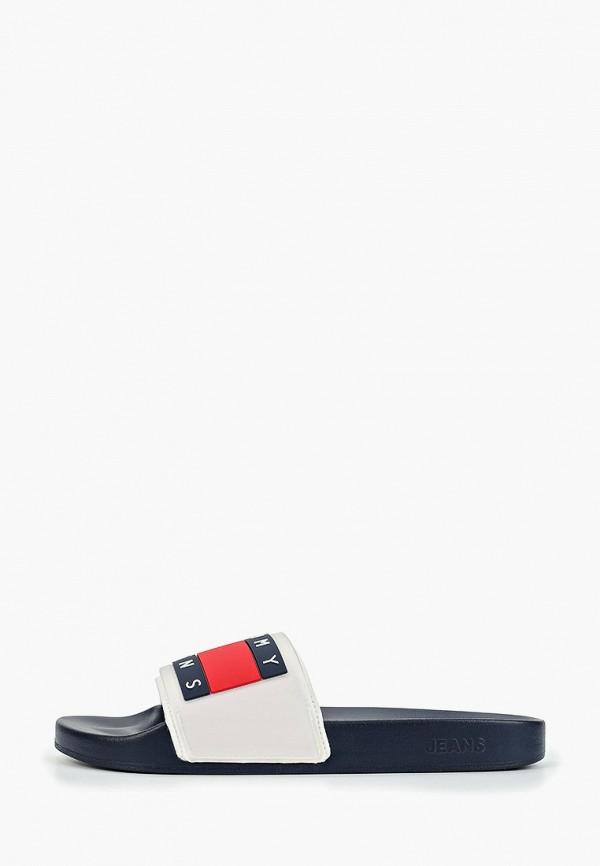Фото 6 - мужские сандали Tommy Jeans белого цвета