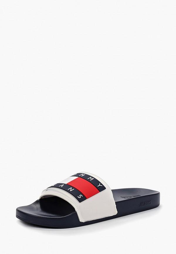 Фото 2 - мужские сандали Tommy Jeans белого цвета