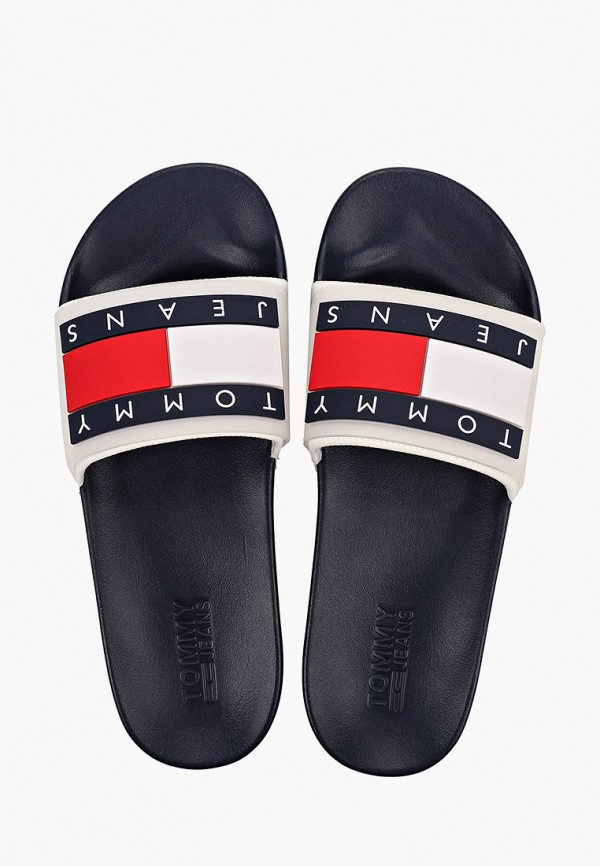 Фото 3 - мужские сандали Tommy Jeans белого цвета
