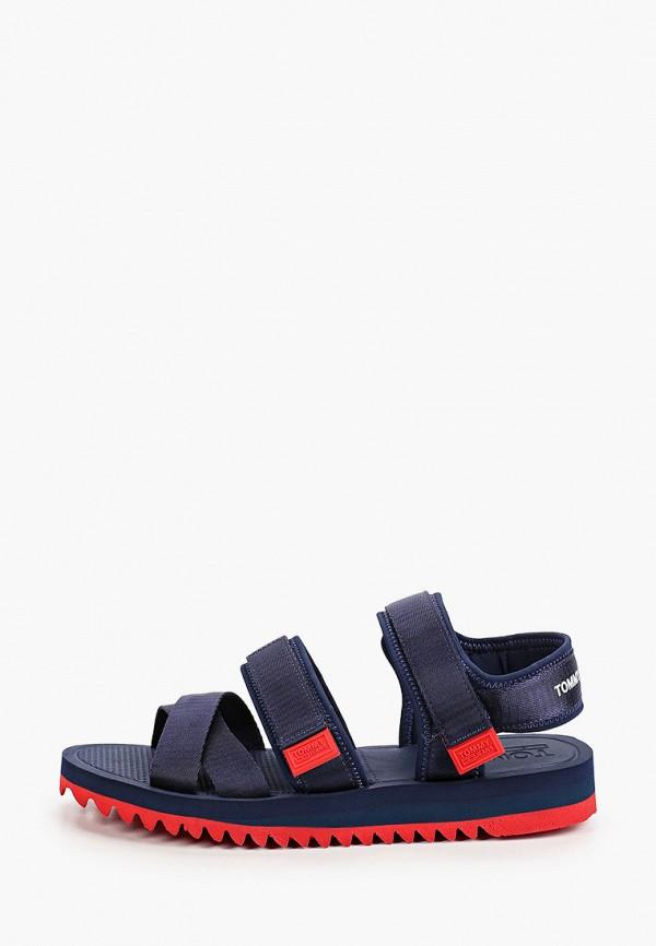 мужские сандалии tommy jeans, синие