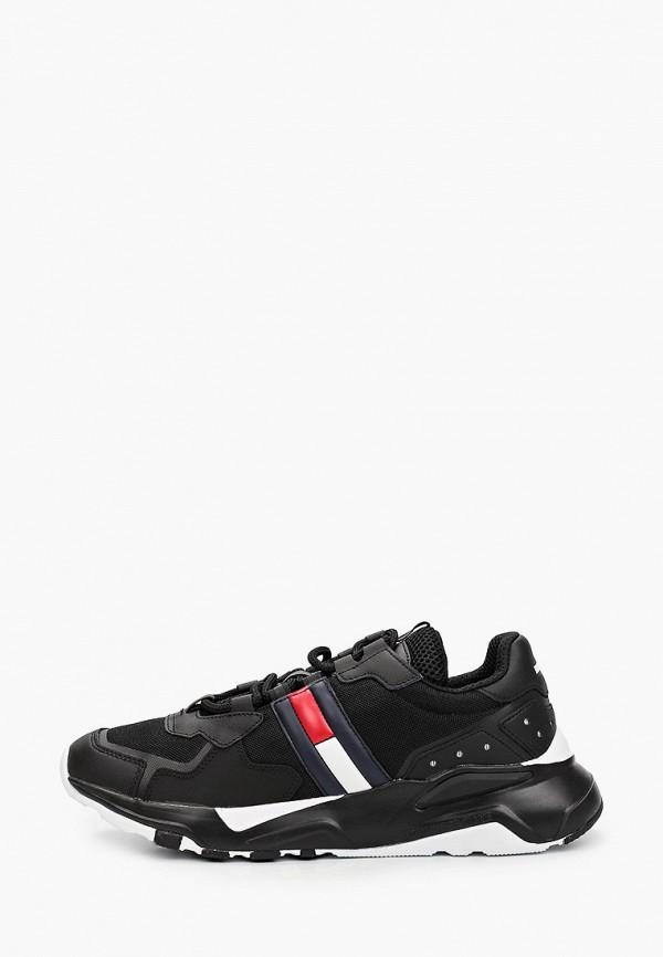 мужские кроссовки tommy jeans, черные