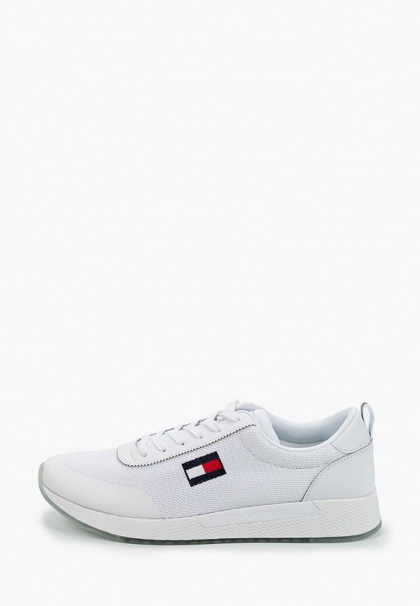 мужские кроссовки tommy jeans, белые